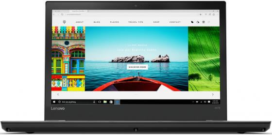 Ноутбук Lenovo ThinkPad A475 14 1600x900 AMD A10 Pro-9700B 500 Gb 4Gb  Radeon R7 черный Windows  Professional 20KL001ERT