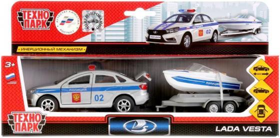 Полицейский внедорожник ТЕХНОПАРК LADA 12 см белый SB-17-57WB