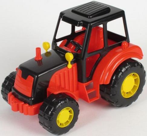 Фото - Трактор Полесье АЛТАЙ красный 35325 игрушка полесье алтай трактор экскаватор 35394