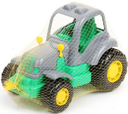 Трактор Полесье КРЕПЫШ зеленый 44778 игрушка полесье крепыш 44549