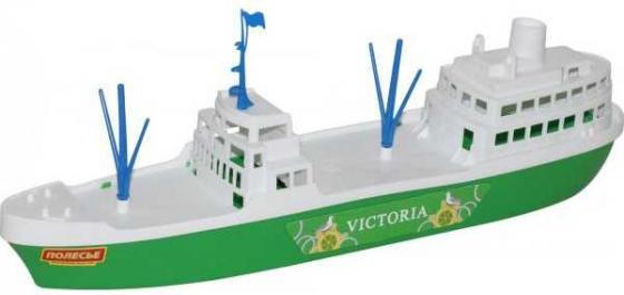 Корабль Полесье КОРАБЛЬ ВИКТОРИЯ 8 шт зеленый 56399 игрушки для ванны полесье корабль трансатлантик