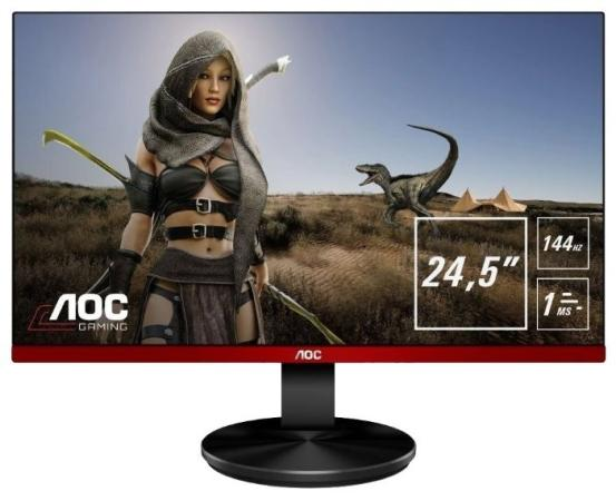 Монитор 25 AOC G2590FX черный TN 1920x1080 400 cd/m^2 1 ms HDMI DisplayPort VGA Аудио