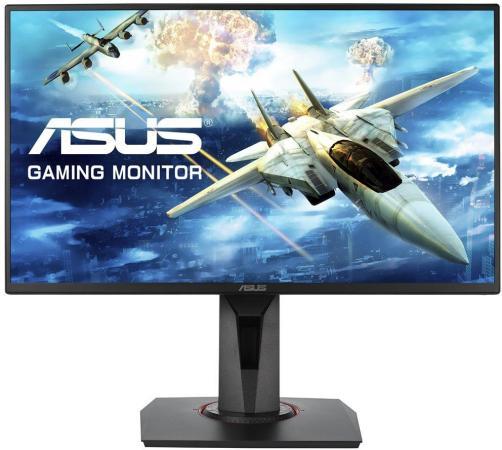 Монитор 25 ASUS VG258Q черный TN 1920x1080 400 cd/m^2 1 ms HDMI DVI DisplayPort Аудио 90LM0450-B01370 монитор 25 asus xg258q черный tn 1920x1080 400 cd m^2 1 ms hdmi displayport 90lm03u0 b01370