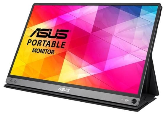 купить Монитор 16 ASUS MB16AC черный IPS 1920x1080 220 cd/m^2 4 ms — 90LM0381-B01170 онлайн