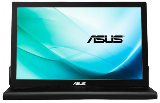 Монитор 16 ASUS MB169B+ черный IPS 1920x1080 200 cd/m^2 14 ms USB 90LM0183-B01170 23 6 asus mg24uq matted black 90lm02ec b01170