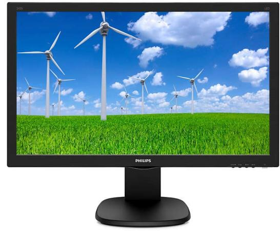 цена на Монитор 24 Philips 243S5LJMB/00 черный TN 1920x1080 250 cd/m^2 1 ms DVI HDMI DisplayPort VGA Аудио USB