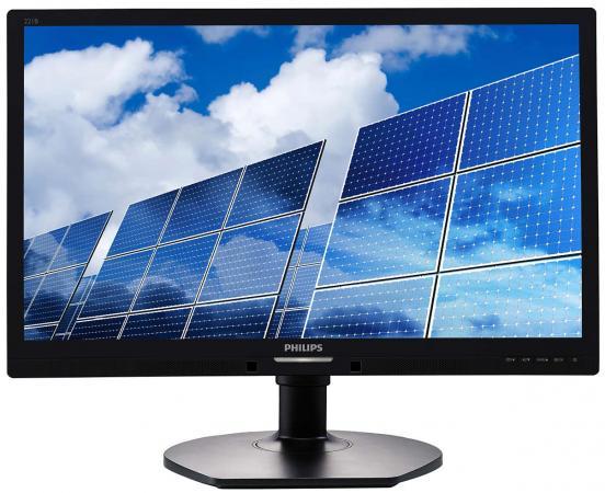 МОНИТОР 21.5 PHILIPS 221B6LPCB/00 Black с поворотом экрана (LED, 1920x1080, 5 ms, 170°/160°, 250 cd/m, 20M:1, +DVI, +4x 1piece 5 75inch led headlight black