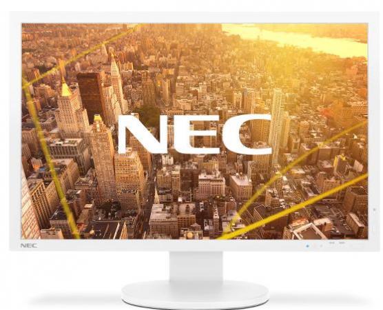 NEC 24.1 PA243W LCD S/Wh (AH-IPS; 16:10; 350cd/m2; 1000:1; 8 ms; 10 bit; 1920x1200; 178/178; D-sub; DVI-D; DP; HDMI; USB hub; HAS 150mm; Swiv 170/170; Tilt; Pivot; PiP)