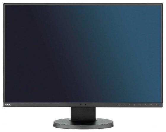 "Монитор 24"" NEC MultiSync EA245WMI-2-BK черный IPS 1920x1200 300 cd/m^2 6 ms HDMI DVI DisplayPort VGA Аудио USB цена и фото"