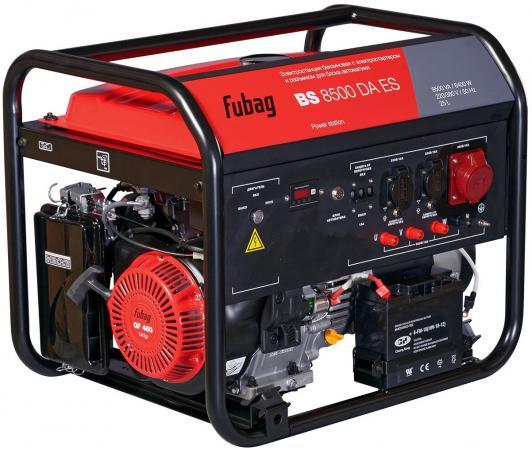 Бензиновый генератор FUBAG BS 8500 DA ES 8.5 кВа/6.4 кВт, время работы: 5.5 ч. бензиновый генератор бг 8500 workmaster шт
