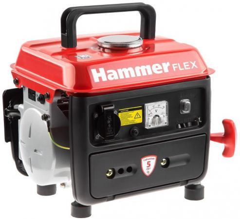 Бензоэлектростанция Hammer Flex GN800 0,8КВт 220В 50Гц бак 4,5л непр.6ч