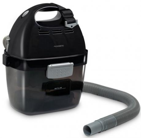 Aккумуляторный пылесос Dometic PV-100 сухая сбор жидкостей уборка чёрный серый автохолодильники dometic автохолодильник термоэлектрический dometic bordbar