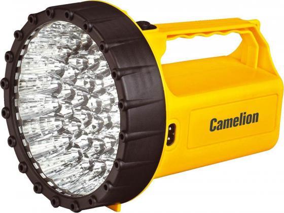 цена на Фонарь CAMELION LED29316 аккум. 220В желтый 43 LED 6В 4А-ч пластик коробка