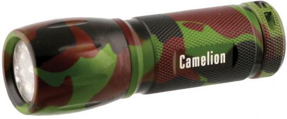 цена на Фонарь CAMELION LED5107-9ML камуфляж 9 led 3xr03 в комплекте алюм. блистер