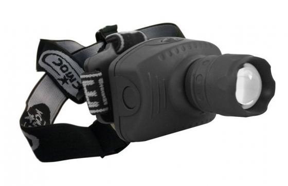 цена на Фонарь налобный КОСМОС H3W-LED чёрный
