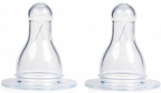 Соска Canpol Соска 2 шт силикон ортодонтическая от 6 месяцев белый 18/115 соска canpol круглая соска для каши 2 шт силикон классическая от 6 месяцев прозрачный
