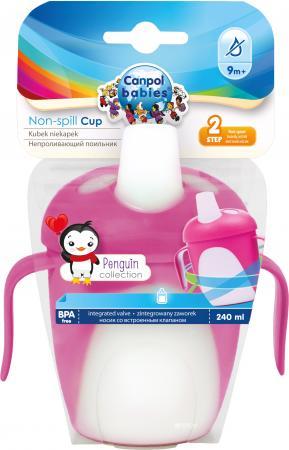 Кружка Canpol Penguins 1 шт от 9 месяцев розовый 76/001 все цены