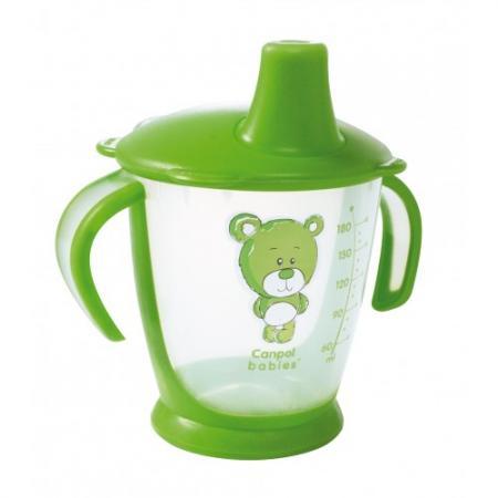 Кружка Canpol Медвежонок 1 шт от 9 месяцев зеленый 31/500 все цены