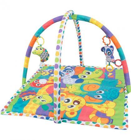 Развивающий коврик Playgro активный центр В мире животных 0185477 playgro игрушка активный центр в мире животных playgro