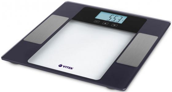 1987(VT) Весы напольные VITEKМаксимальный вес 180 кг / 100г.С функцией диагностика 8 в 1.