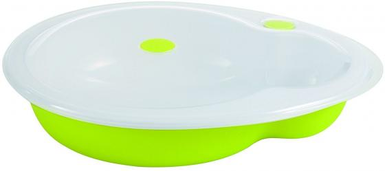 Тарелка Bebe Confort Герметичная тарелка 1 шт от 9 месяцев зеленый 31000287 стул для кормления bebe confort kaleo шоколад 27518190