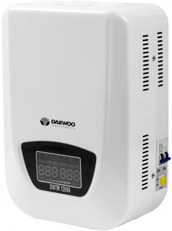 Стабилизатор напряжения DAEWOO DW-TM12kVA 12кВт 140-270В 20мс кпд 95% защита от кз/помех 2х220В