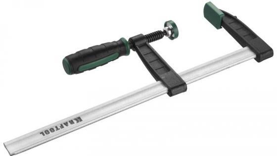 """Струбцина KRAFTOOL 32011-120-800 тип """"F"""", DIN 5117, двухкомпонентная ручка, 120х800мм цена и фото"""