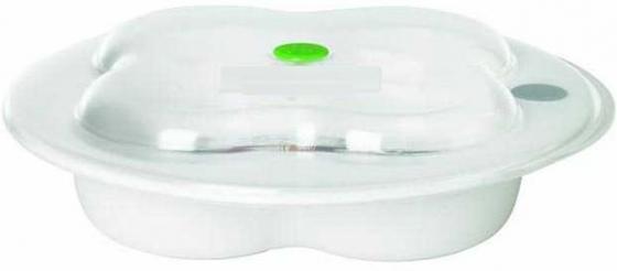 Тарелка Bebe Confort крышкой 2 шт от 6 месяцев белый 31000305 цена 2017