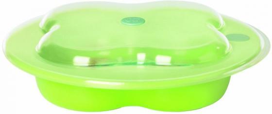 Тарелка Bebe Confort форме лаврового листа 2 шт от 1 года зеленый 31000304 стул для кормления bebe confort kaleo шоколад 27518190