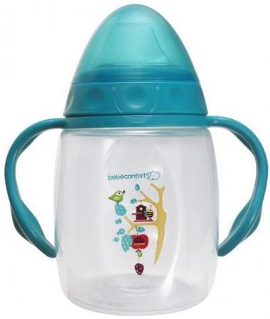 Поильник-непроливайка с ручками Bebe Confort Bee Fantasy, 9-18 мес, 150 мл bebe confort maternity с ручками 270 мл