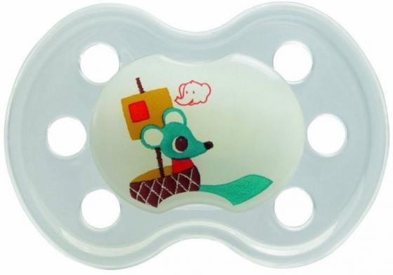 Пустышка ортодонтическая силиконовая ночная без кольца Bebe Confort bebe confort автокресло creatis fix devin denim