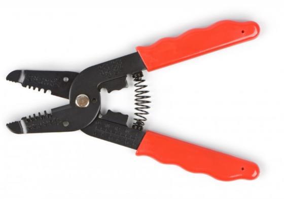 Инструмент для зачистки кабеля 0.25 - 0.65 мм2 (ht-1043) инструмент rexant ht 766 tl 766 12 4005 для зачистки кабеля