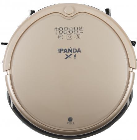 Робот-пылесос Panda X1 сухая влажная уборка золотистый