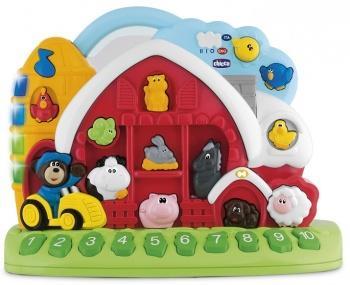 Интерактивная игрушка Chicco Говорящая ферма от 12 месяцев интерактивная игрушка chicco sweet love lamb овечка с рождения бело голубой