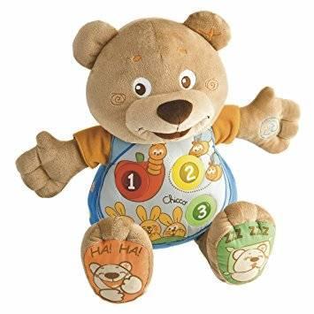 Интерактивная игрушка Chicco Говорящий Мишка Teddy от 6 месяцев