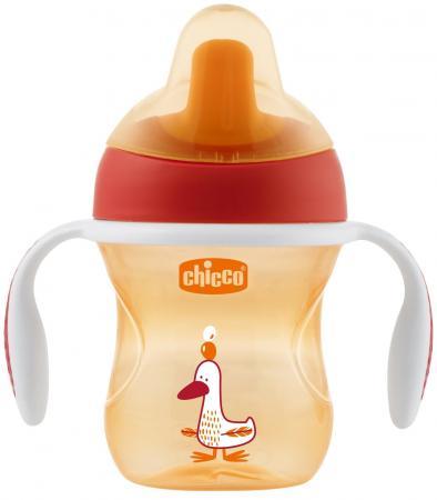 все цены на Поильник Chicco Training Cup (полужесткий носик), 1 шт., 6 мес+, 200 мл, цвет красный, 340624119