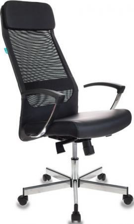 Кресло руководителя Бюрократ T-995SL/BLACK чёрный кресло руководителя бюрократ ch 868axsn white белый