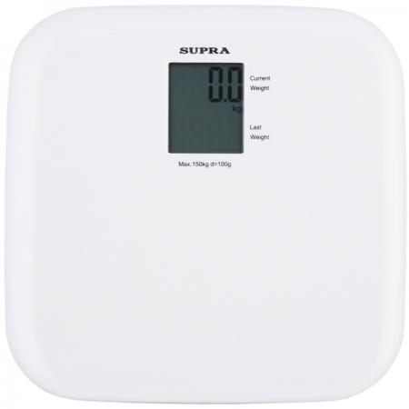 Весы напольные Supra BSS-6051 WH белый весы напольные supra bss 4060 flower