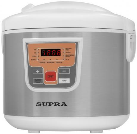 Мультиварка Supra MCS-5110 5л 900Вт серебристый мультиварка supra mcs 5110 5л 900вт серебристый