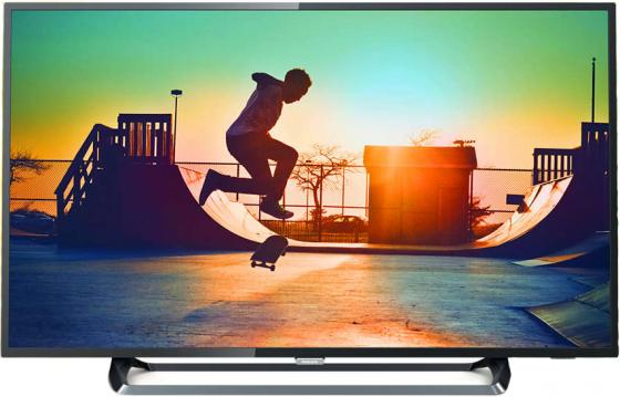 Телевизор LED Philips 55 55PUS6262/60 черный/Ultra HD/900Hz/DVB-T/DVB-T2/DVB-C/DVB-S2/USB/WiFi/Smart TV (RUS) телевизор philips 32pft4100 60 full hd pmr 100 черный