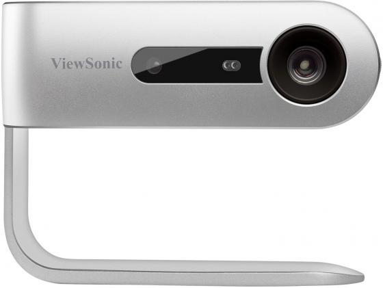 Проектор ViewSonic M1 DLP 250Lm (854x480) 120000:1 ресурс лампы:30000часов 1xUSB typeA 1xHDMI 0.75кг mdi m1 dlp pocket projector android 4 4 silver