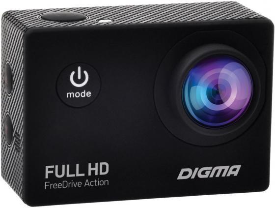 Видеорегистратор Digma FreeDrive Action Full HD черный 1.2Mpix 1080x1920 1080p 120гр.