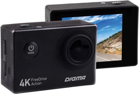 Видеорегистратор Digma FreeDrive Action 4K черный 8Mpix 2448x3264 2160p 120гр.