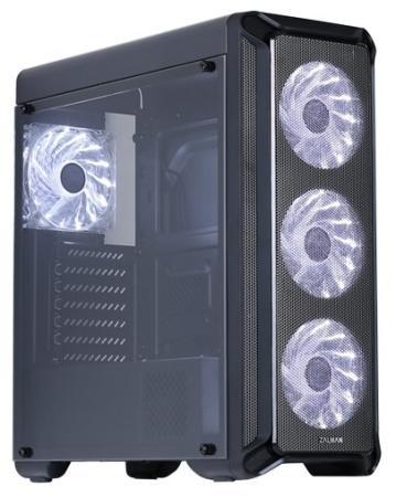 Корпус ATX Zalman i3 Без БП чёрный корпус atx gmc t360 без бп чёрный