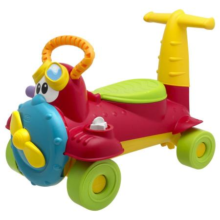 Каталка-машинка Chicco Sky-Rider ЧАРЛИ пластик от 18 месяцев на колесах красный