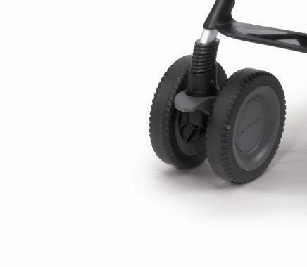 Колесо сдвоенное переднее к коляске Chicco Multiway Evo в сборе (1шт.) chicco сдвоенное для коляски multiway evo