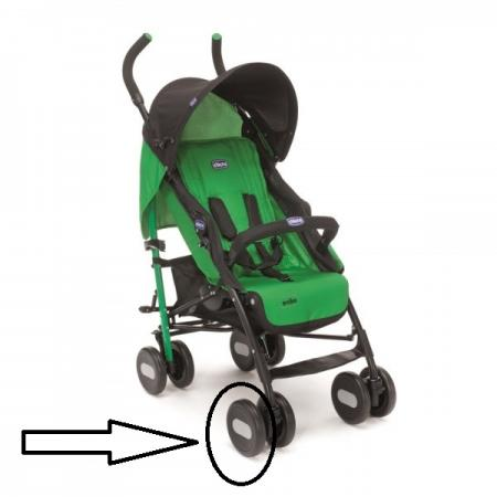 Колесо одинарное переднее к коляске Chicco Echo стенд демонстрационный horst t013 универсальный 12 29 под переднее колесо до 65мм 00 170313
