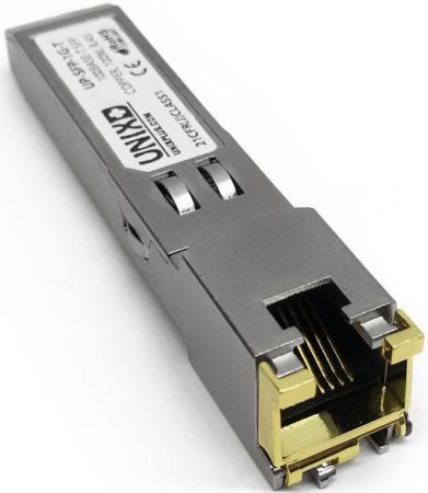 Модуль SFP Arista SFP-1G-T 1000BASE-T SFP (RJ-45 Copper) ubiquiti edgerouter x sfp er x sfp eu