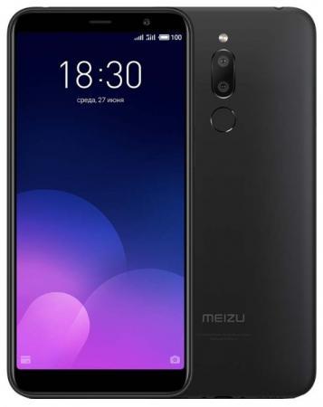 Смартфон Meizu M6T черный 5.7 16 Гб LTE Wi-Fi GPS 3G смартфон sony xperia xa1 dual черный 5 32 гб nfc lte wi fi gps 3g g3112blk