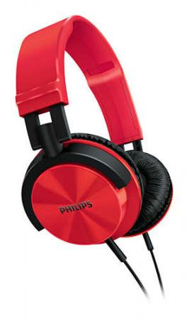 Наушники Philips SHL3075RD/00 красный philips shp1900 10 наушники